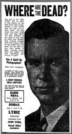 Ford  John evangelistic ad Richmopnd TD 1Aug1937